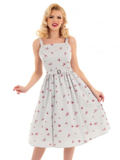 "Robe Rockabilly Retro Pin-Up HR London ""Gertrude"" - rockangehell.com"