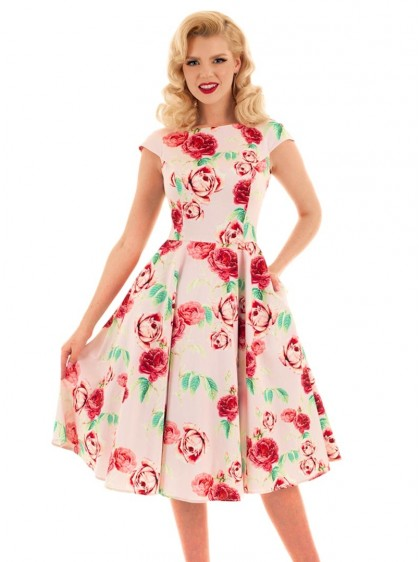 "Robe Pin-Up Retro Rockabilly HR London ""Shirley"" - rockangehell.com"