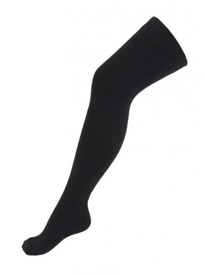 Chaussettes Montantes noires Macahel, punk, rock, gothique, métal, dark wear
