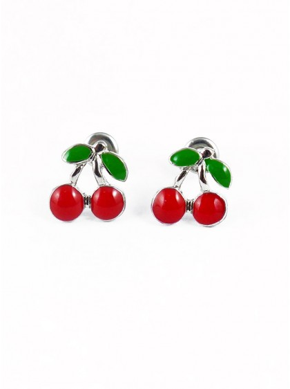 "Boulces d'oreilles Rockabilly Retro Rock Daddy ""Little Cherry"""