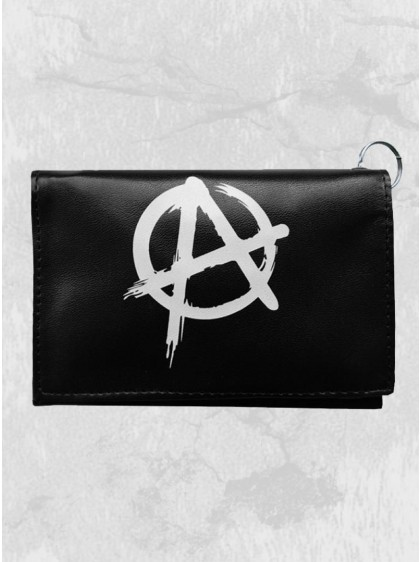 """Portefeuille Rock Punk Rock Daddy """"White Anarchy"""""""