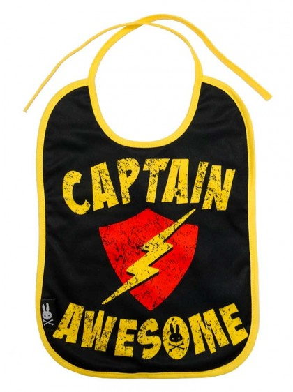 "Bavoir Rock Metal Six Bunnies ""Captain Awesome"" - rockangehell.com"