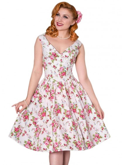 "Robe Pin-Up Rockabilly Retro Sheen ""Nellie"" - rockangehell.com"
