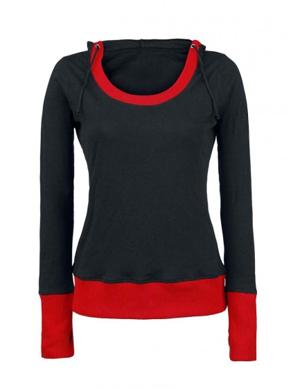 "Sweat Rock Gothique Spiral ""Red Rib"""