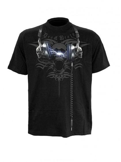 """Tee-shirt rock homme Spiral """"Dead Beats"""""""