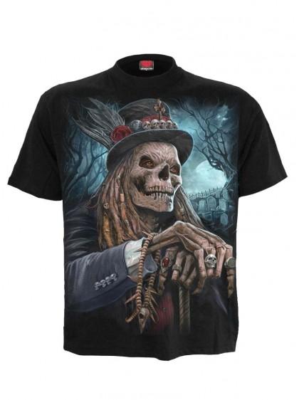 """Tee-shirt homme Rock Gothique Spiral """"Voodoo Catcher"""" - rockangehell.com"""