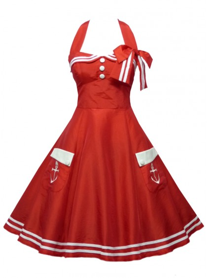 "Robe Sailor Marin Pin-Up Rockabilly Retro ""Freya"""