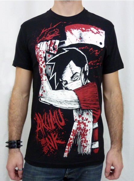 "Tee-shirt rock gothique homme Akumu Ink ""The Butcher"""