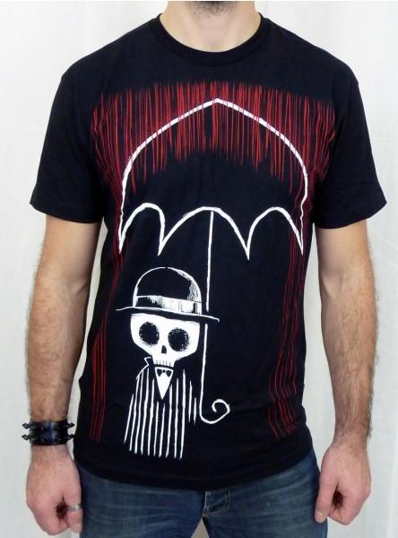 "Tee-shirt rock gothique homme Akumu Ink ""The Blood Storm"""