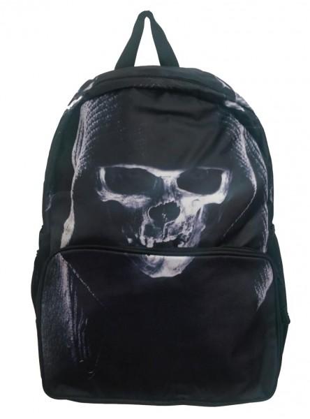 "Sac à dos Rock Gothique Banned ""Shadow Skull"""