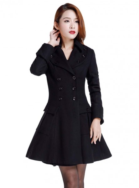 "Manteau Pin-Up Rockabilly Gothique Lolita Chicstar ""Anna"" - rockangehell.com"
