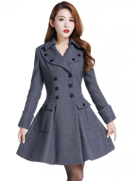 "Manteau Pin-Up Rockabilly Gothique Lolita Chicstar ""Anna Grey"" - rockangehell.com"