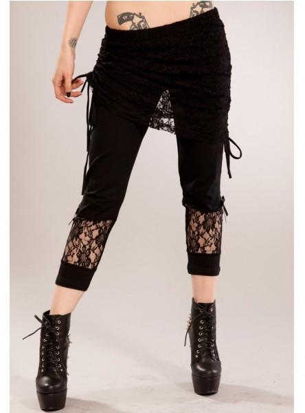 """Legging gothique rock Vixxsin (Evil Clothing) """"Dark"""""""