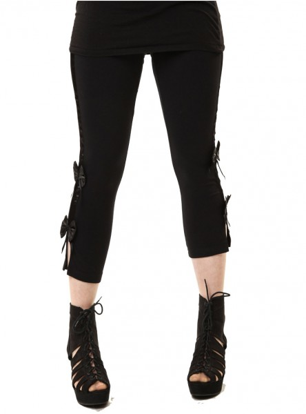 "Legging gothique rock Poizen Industries (Evil Clothing) ""Eve"""