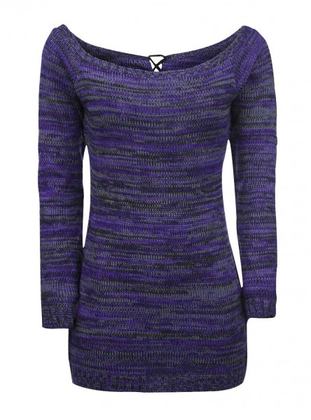 "Pull Rock Innocent (Evil Clothing) ""Hena Purple"" - rockangehell.com"