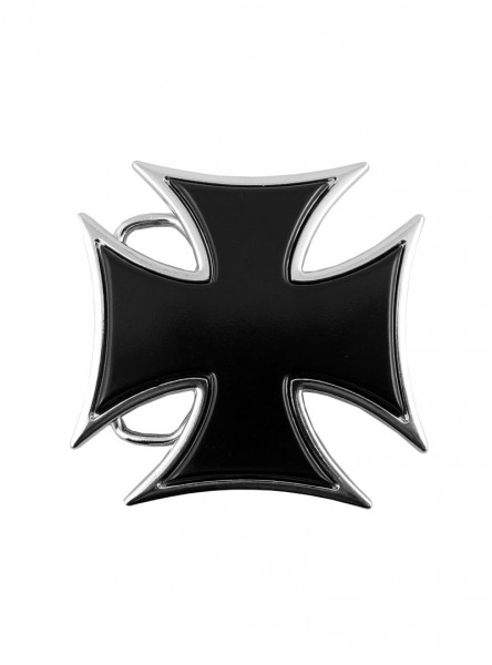 "Boucle de ceinture Gothique Dark Wear Rock Daddy ""Cross"""