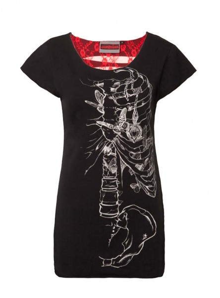 "Tee-shirt Gothique Jawbreaker ""Locket"""