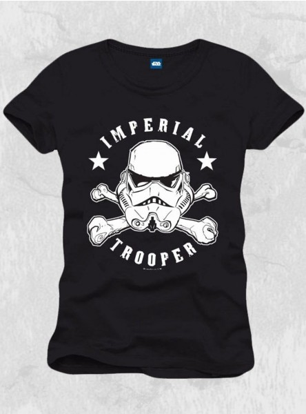"Tee-shirt homme Star Wars ""Stormtrooper Skull Head"""