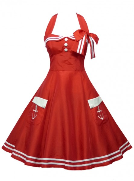 "Robe Sailor Marin Pin-Up Rockabilly Retro ""Freya"""