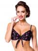 "Haut Push-Up Maillot de bain Bikini Vintage Rockabilly Pin-Up Retro Belsira ""Flamingo"" - rockangehell.com"