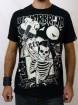 "Tee-shirt rock homme Liquor Brand ""Bass to your face"""