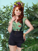 """Tee-shirt Vintage Pin-Up Rockabilly Collectif """"Dolores Butterfly"""" - rockangehell.com"""