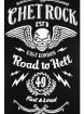 "Tee-shirt homme Rock Rockabilly Chet Rock ""Road To Hell"" - rockangehell.com"