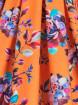 "Robe Rockabilly Retro Pin-Up Lady Vintage ""Watercolour Dream Eva"" - rockangehell.com"