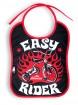 "Bavoir Rockabilly Rock Six Bunnies ""Easy Rider"""