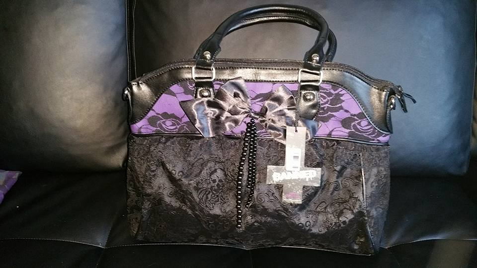 "Sac Gothique Lolita Banned ""Black Purple"""