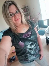 "Tee-shirt Rock Punk Alchemy ""Dead Roses"""