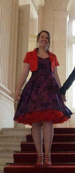 "Robe Mariage Soirée Pin-Up Rockabilly Retro ""Anne"""