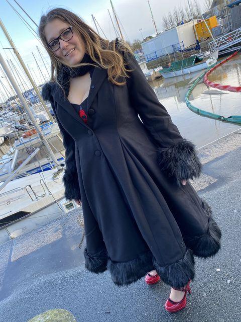 Manteau Rockabilly Pin-Up Lolita Hell Bunny