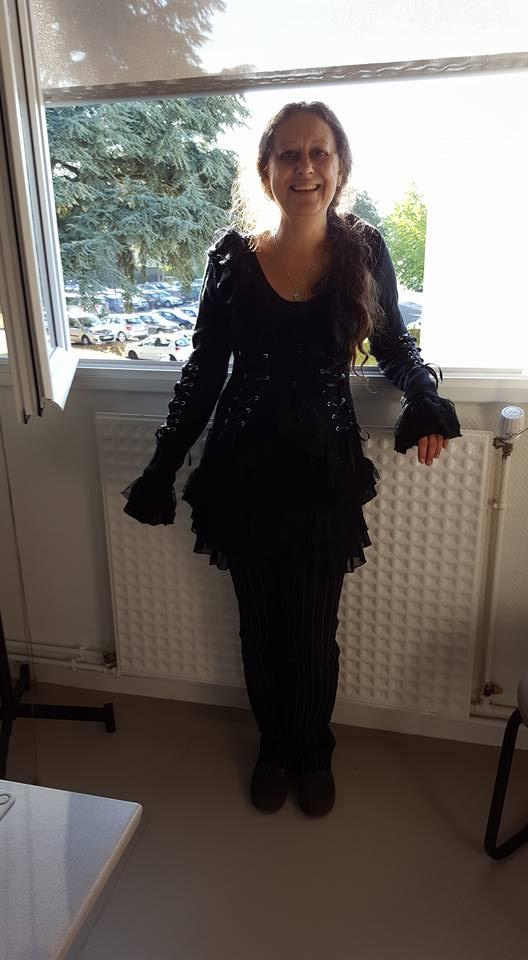 Veste Gilet Gothique Lolita Poizen Industries (Evil Clothing)