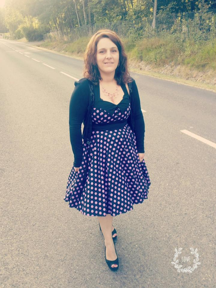 Robe Pin-Up Rockabilly Vintage Rock Ange'Hell