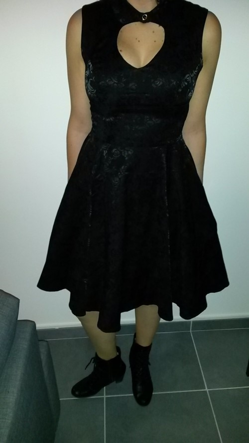 Robe rockabilly gothique Pin-up HR London