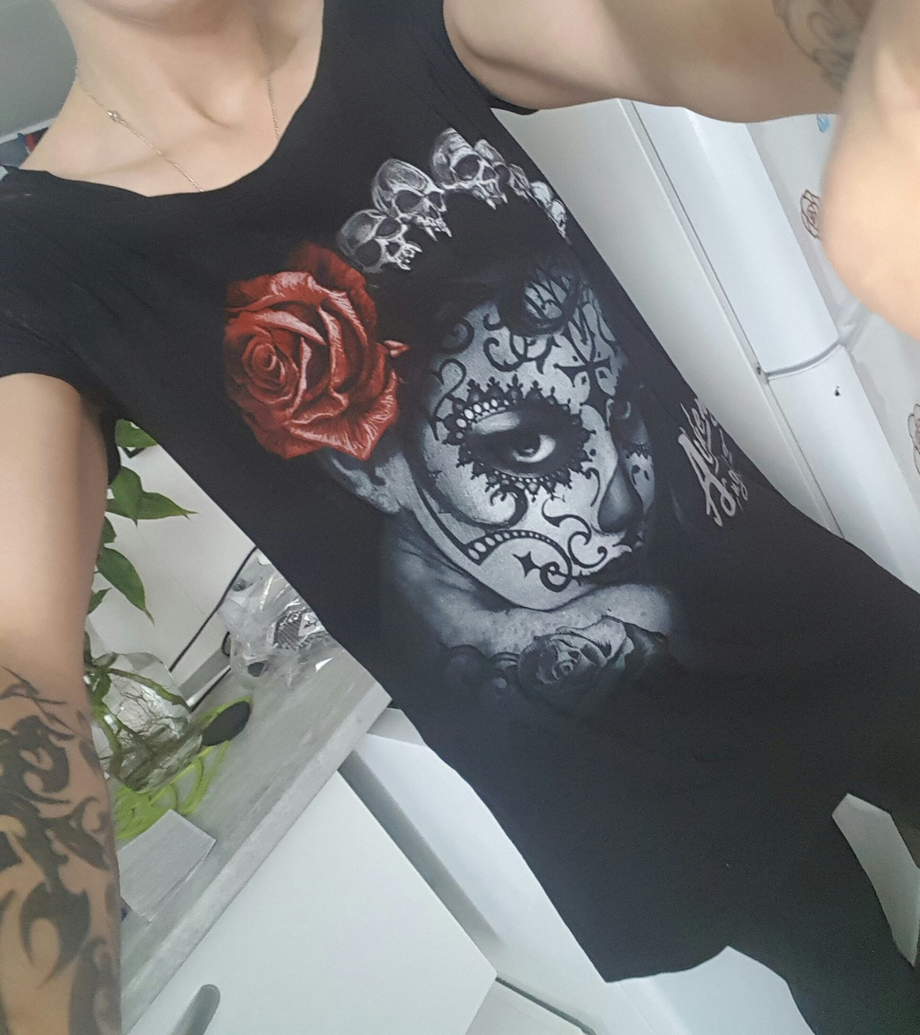 "Tee-shirt Rock Gothique Alchemy ""Widows Weed"""