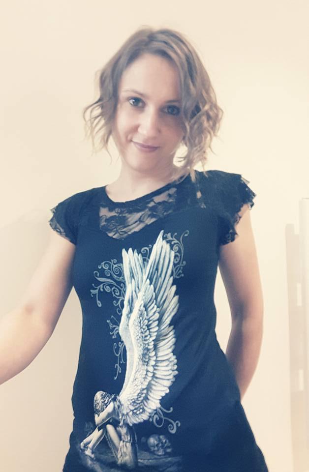 T-shirt gothique Spiral