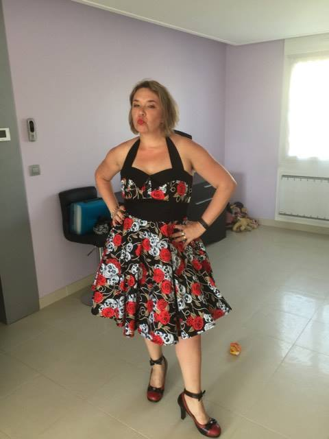 Robe Rock Gothique Rockabilly Rock Ange