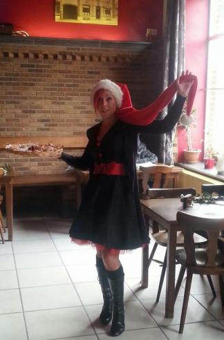 Robe Rockabilly Gothique Voodoo Vixen