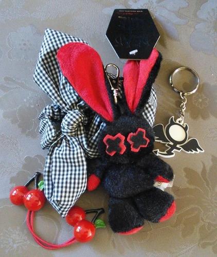 Porte-clés punk rock Luv Bunny's - Evil Clothing -