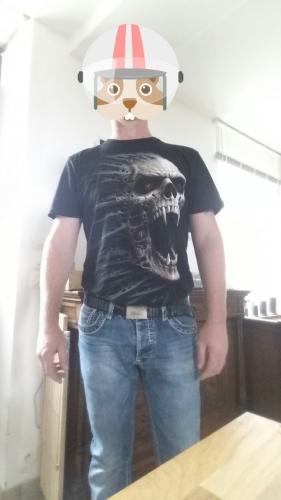 Tee-shirt punk rock homme Spiral
