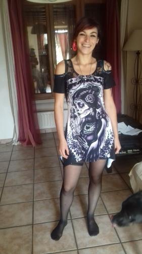 """Débardeur Rock Gothique Vixxsin (Evil Clothing) """"Funeral"""""""