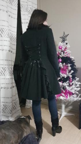 Manteau Pin-Up Rockabilly Gothique Lolita Chicstar