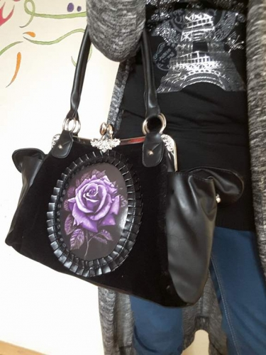 Sac à main Gothique Lolita Restyle