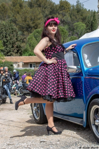 Robe Pin-Up Rockabilly Vintage Rock Ange