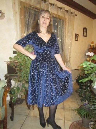Robe Soirée Années 50 Pin-Up Rockabilly Retro Collectif