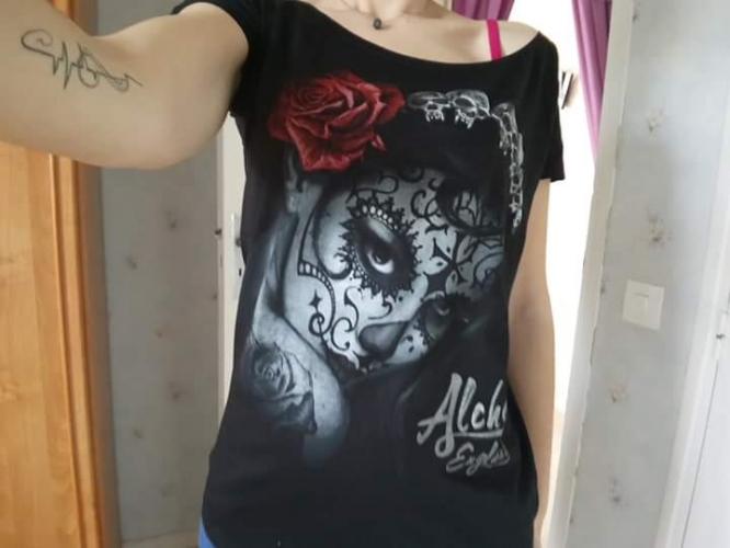 Tee-shirt Rock Gothique Alchemy