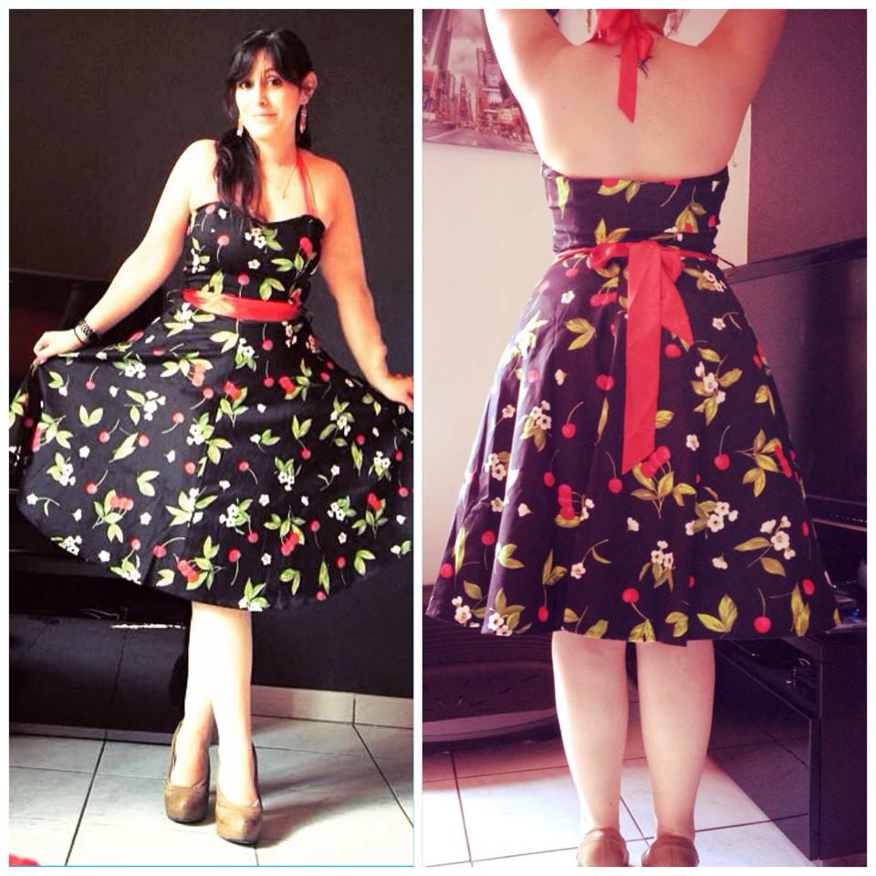 Robe Rockabilly Vintage Retro HR London