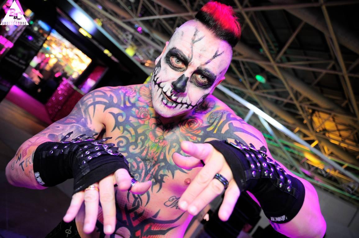 Mitaines punk gothiques Poizen Industries (Evil Clothing)